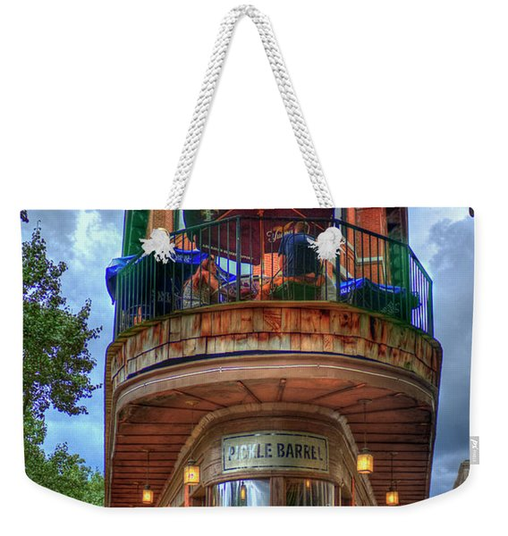 The Pickle Barrel Chattanooga Tn Art Weekender Tote Bag