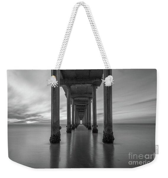 The Pier  Bw Weekender Tote Bag