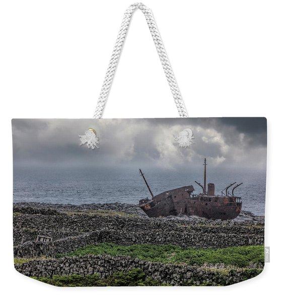 The Plassey Shipwreck Weekender Tote Bag
