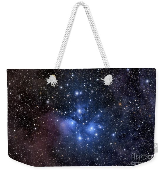 The Pleiades, Also Known As The Seven Weekender Tote Bag