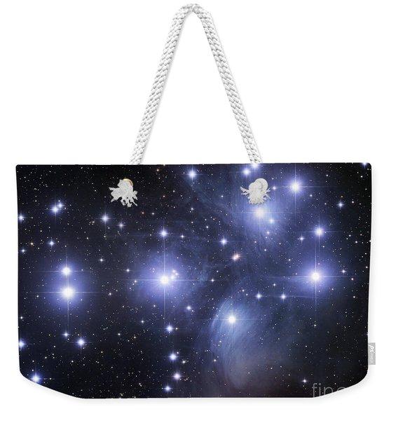 The Pleiades Weekender Tote Bag