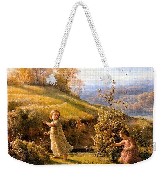 The Poem Of The Soul Spring Anne Francois Louis Janmot 1854. Weekender Tote Bag