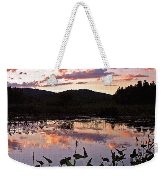 The Poetry Of Twilight Weekender Tote Bag