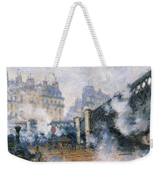The Pont De Leurope Gare Saint Lazare Weekender Tote Bag