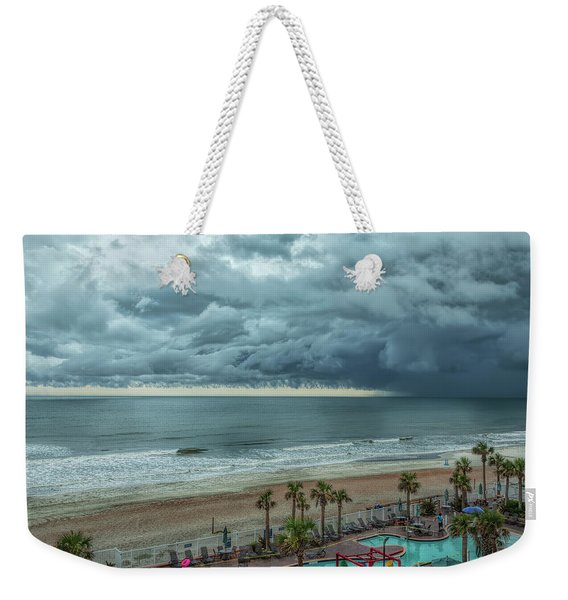 The Pool Is Closed Weekender Tote Bag