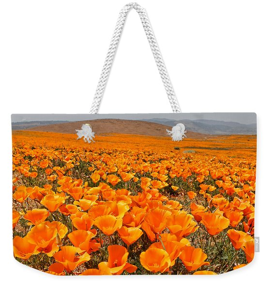 The Poppy Fields - Antelope Valley Weekender Tote Bag