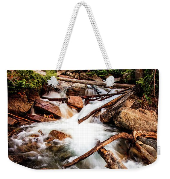 The Power Of Nature - Little Cottonwood Creek Weekender Tote Bag