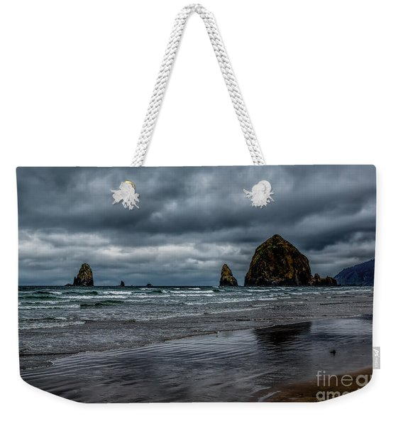 The Power Of The Sea Weekender Tote Bag