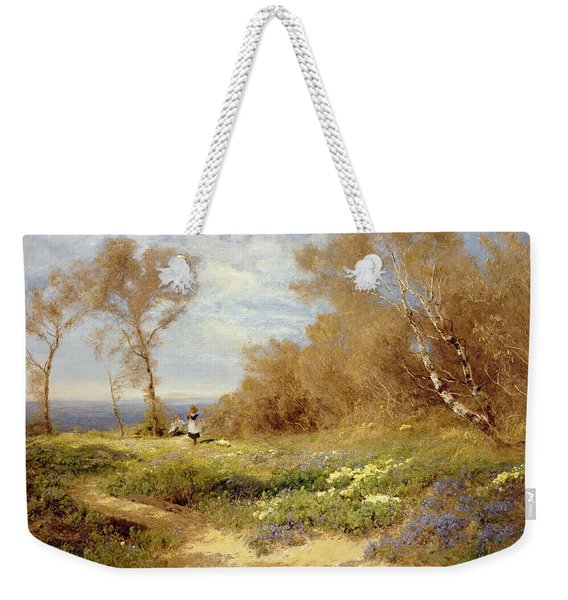 The Primrose Gatherers Weekender Tote Bag