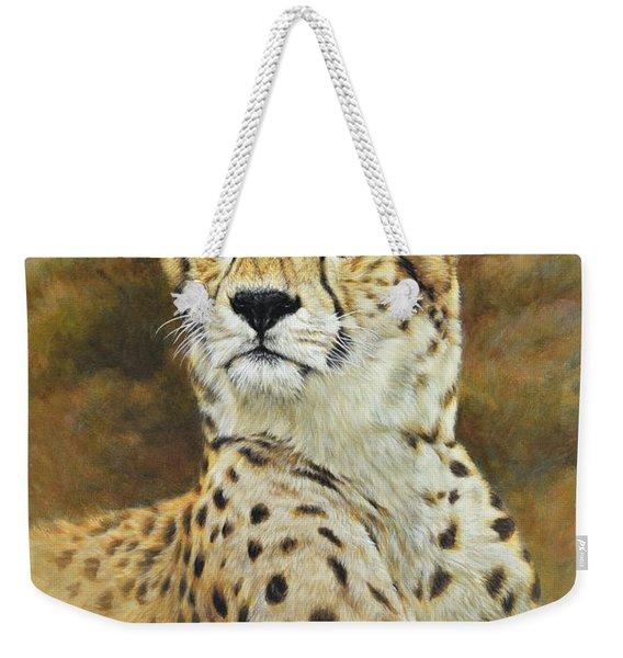 The Prince - Cheetah Weekender Tote Bag
