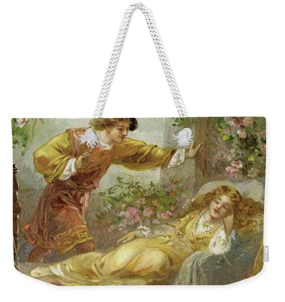 The Prince Finds The Sleeping Beauty Weekender Tote Bag
