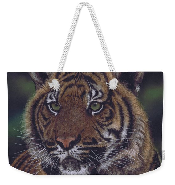 The Prince Of The Jungle Weekender Tote Bag