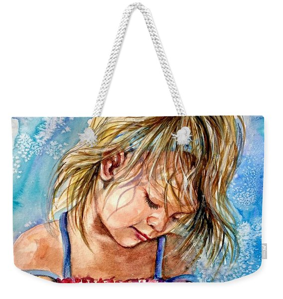 The Princess Of The Sand Castle Weekender Tote Bag