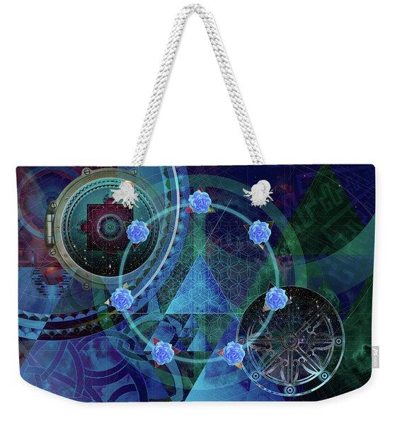 The Prism Of Time Weekender Tote Bag