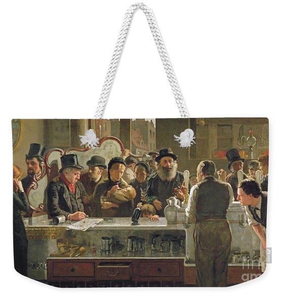 The Public Bar Weekender Tote Bag