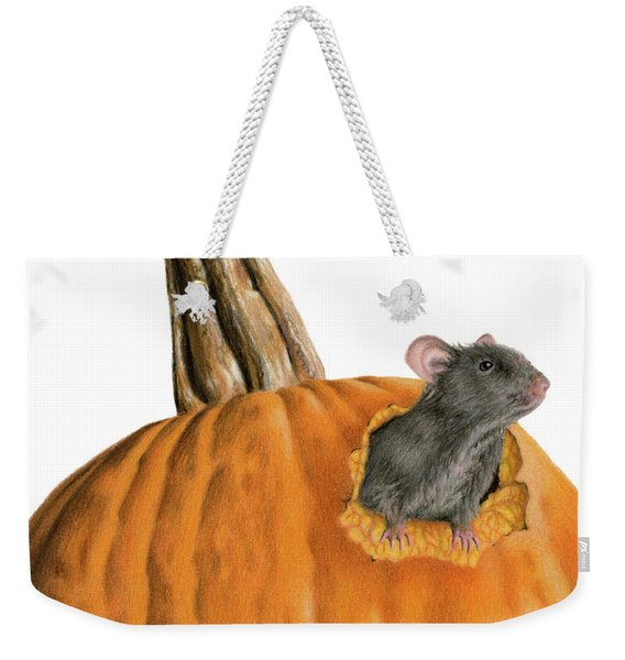 The Pumpkin Carver Weekender Tote Bag