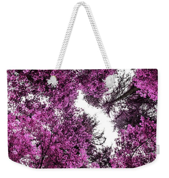 The Purple Forest Weekender Tote Bag