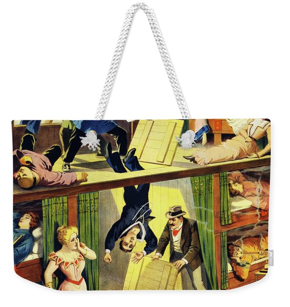 Weekender Tote Bag featuring the painting The Queen Of Chinatown by Marian Cates