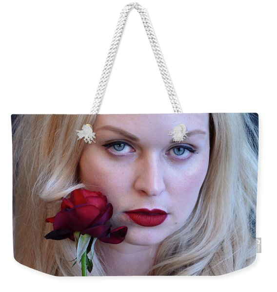 The Queen's Rose... Weekender Tote Bag
