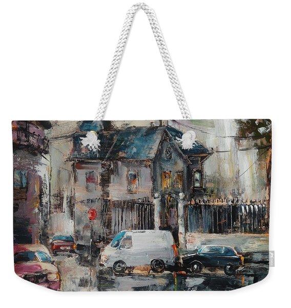The Quiet District Weekender Tote Bag