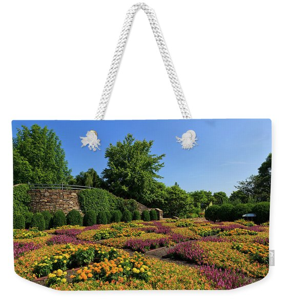 The Quilt Garden Weekender Tote Bag