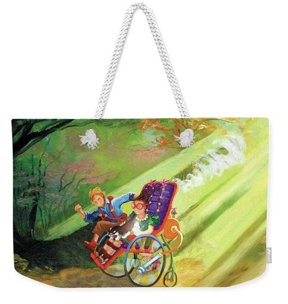 The Race Weekender Tote Bag