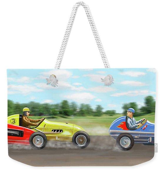 The Racers Weekender Tote Bag