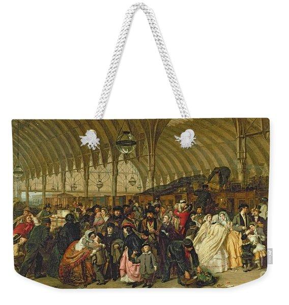 The Railway Station Weekender Tote Bag