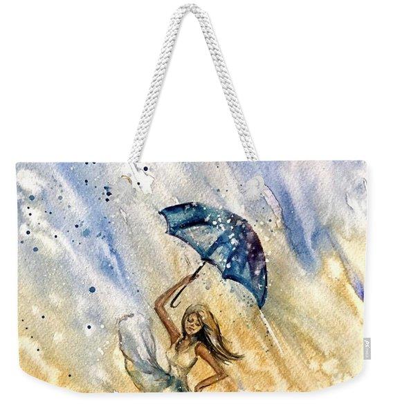 The Rain Weekender Tote Bag
