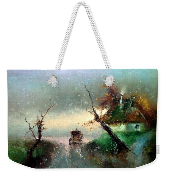 The Rays Of The Morning Sun Weekender Tote Bag