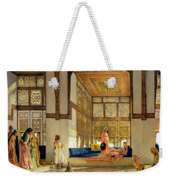 The Reception Weekender Tote Bag