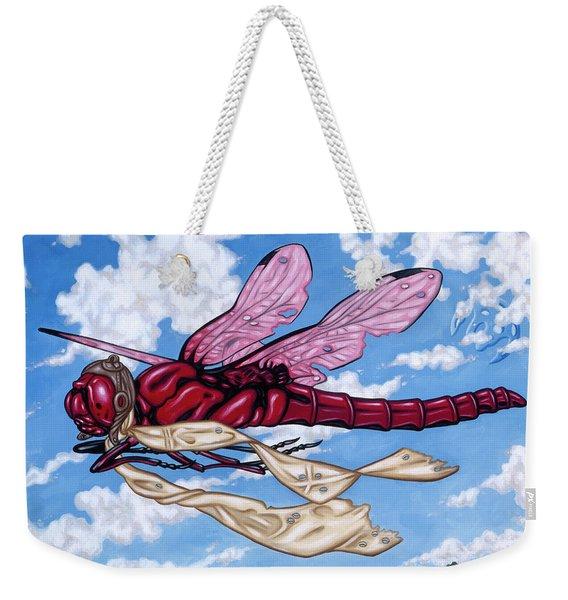 The Red Baron Weekender Tote Bag