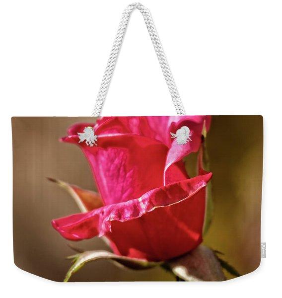 The Red Bud Weekender Tote Bag