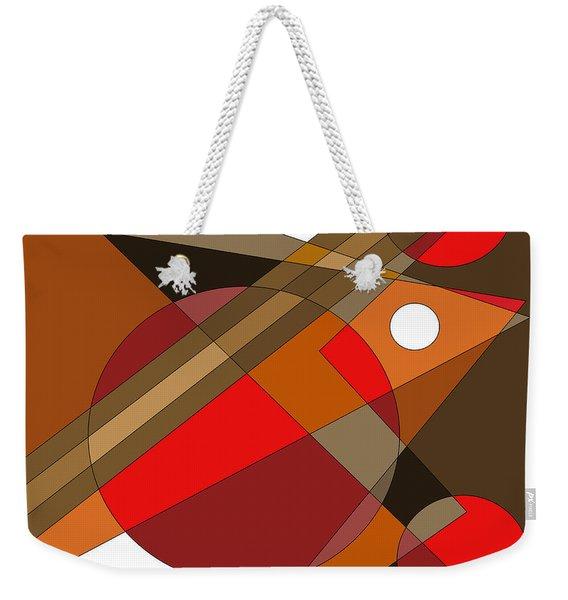 The Red Eye Weekender Tote Bag