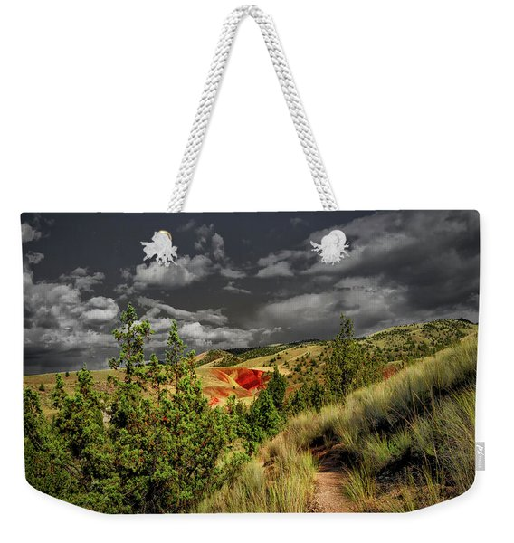 The Red Hill Weekender Tote Bag