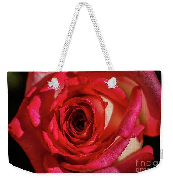 The Red Rose Weekender Tote Bag