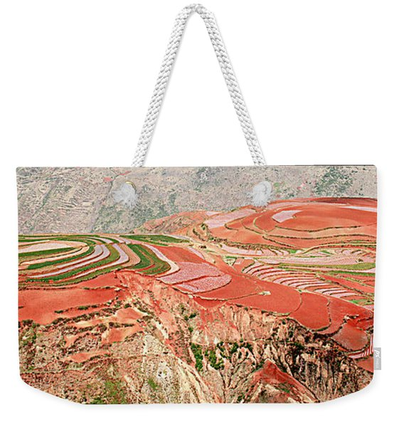The Redlands, Yunnan, China Weekender Tote Bag