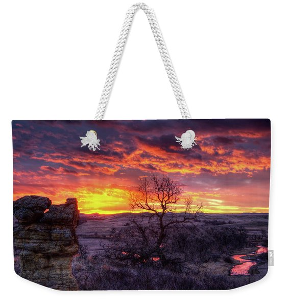 The Redwater Weekender Tote Bag