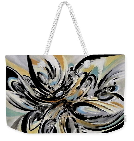The Reflecting Expression Weekender Tote Bag