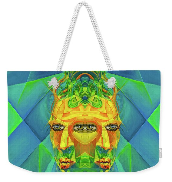 The Reinvention Reinvented 2 Weekender Tote Bag
