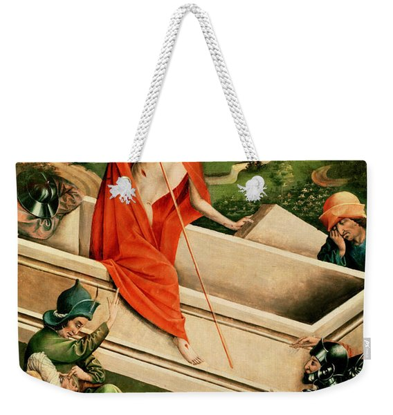 The Resurrection Weekender Tote Bag