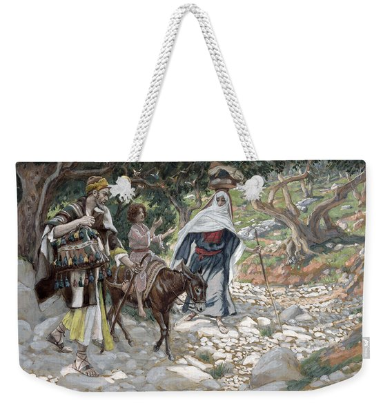 The Return From Egypt Weekender Tote Bag