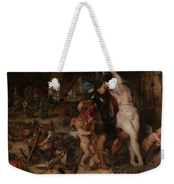 The Return From War- Mars Disarmed By Venus  Weekender Tote Bag