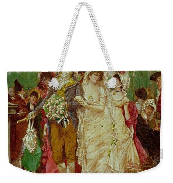 The Revolutionist's Bride, Paris, 1799 Weekender Tote Bag