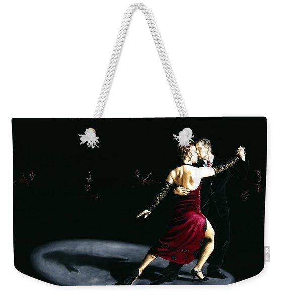 The Rhythm Of Tango Weekender Tote Bag