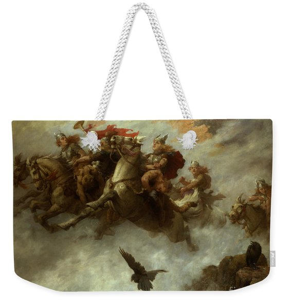 The Ride Of The Valkyries  Weekender Tote Bag