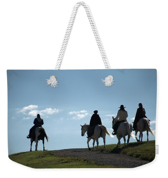 The Ride Weekender Tote Bag