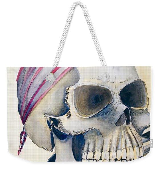 The Rider's Skull Weekender Tote Bag