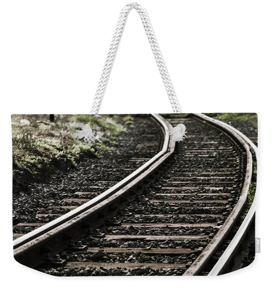 The Right Track? Weekender Tote Bag