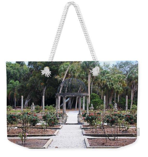 The Ringling Rose Garden Weekender Tote Bag
